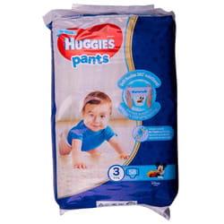 Подгузники-трусики для детей HUGGIES (Хаггис) Pants (Пентс) 3 для мальчиков от 6 до 11 кг 58 шт