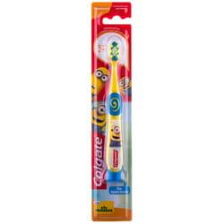 Зубная щетка детская Colgate (Колгейт) Миньйоны для детей от 2-х лет ультрамягкие щетинки