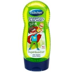 Шампунь-гель для душа детский BUBCHEN (Бюбхен) Супергерой 230 мл