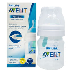 Бутылочка для кормления AVENT (Авент) SCF 810/14 Anti-Colic с клапаном AirFree 125 мл 1 шт