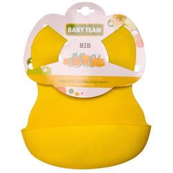 Нагрудник резиновый детский BABY TEAM (Беби Тим) артикул 6500