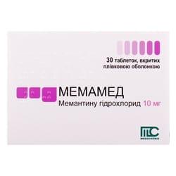Мемамед табл. п/о 10мг №30