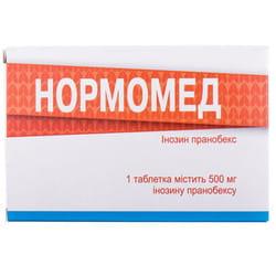 Нормомед табл. 500мг №50