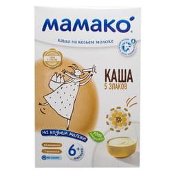 Каша молочная детская МАМАКО 5 злаков на козьем молоке для детей с 6-ти месяцев 200 г