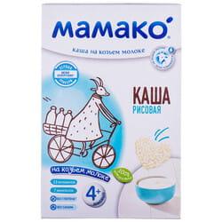 Каша молочная детская МАМАКО Рисовая на козьем молоке для детей с 4-х месяцев 200 г