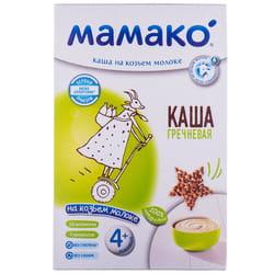 Каша молочная детская МАМАКО Гречневая на козьем молоке для детей с 4-х месяцев 200 г