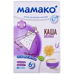 Каша молочная детская МАМАКО Овсяная на козьем молоке для детей с 6-ти месяцев 200 г