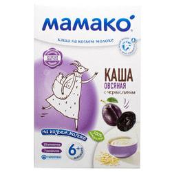 Каша молочная детская МАМАКО Овсяная с черносливом на козьем молоке для детей с 6-ти месяцев 200 г