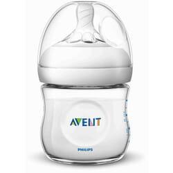 Бутылочка для кормления AVENT (Авент) SCF030/17 Naturals (Нейчерал) из полипропилена для детей с 0 месяцев 125 мл
