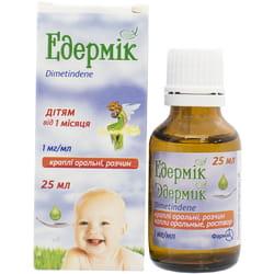 Эдермик капли орал. р-р 1мг/мл фл. 25мл