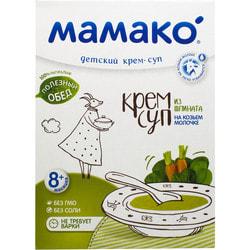 Крем-суп детский МАМАКО из шпината на козьем молоке с 8 месяцев 150 г