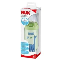 Поильник детский NUK (Нук) First Choice Первый выбор Active Cup (Актив кап) с насадкой для питья из силикона с 12-ти месяцев 300 мл