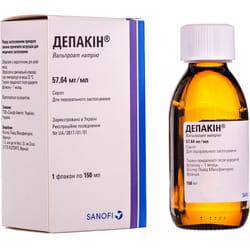 Депакин сироп фл. 150мл
