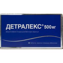Детралекс табл. п/о 500мг №60