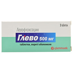 Глево табл. п/о 500мг №5