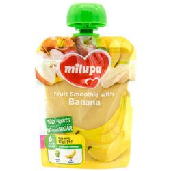 Пюре фруктовое детское Нутриция Milupa (Милупа) Яблоко и банан с 6-ти месяцев 80 г