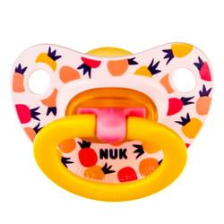 Пустышка латексная NUK (Нук) Happy Kids (Хеппи кидс) для сна размер 2 от 6 до 18 месяцев 1 шт
