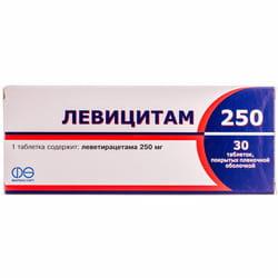Левицитам 250 табл. п/о 250мг №30
