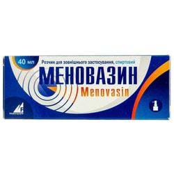 Меновазин р-р спирт. фл. 40мл с мех. распыл.