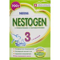 Смесь молочная детская NESTLE (Нестле) Нестожен 3 с пребиотиками и лактобактериями 700 г