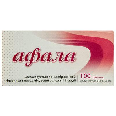 Официальная инструкция Афала табл. №100 Литва (Сантоника) - Аптека 9-1-1