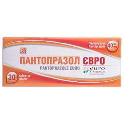 Пантопразол Евро табл. кишечнораст. 40мг №30