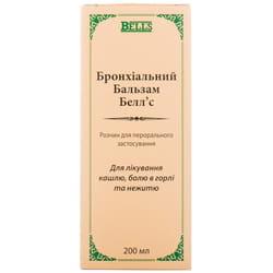 Бальзам бронхиальный Беллс р-р перор. бут. 200мл