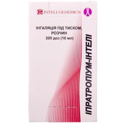 Ипратропиум-Интели ингал. под давл. р-р 20мкг/доза бал. 200доз (10мл)