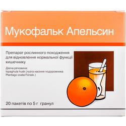Мукофальк апельсин гран. 3,25г/5г пак. 5г №20