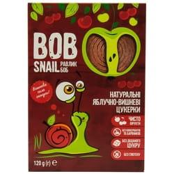 Конфеты детские натуральные Bob Snail (Боб Снеил) Улитка Боб яблочно-вишневые 120 г