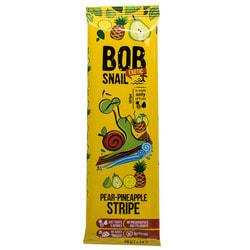 Конфеты детские натуральные Bob Snail (Боб Снеил) Улитка Боб страйпсы грушево-ананасовые 14 г