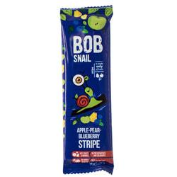 Конфеты детские натуральные Bob Snail (Боб Снеил) Улитка Боб страйпсы яблочно-грушево-черничные 14 г