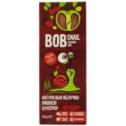 Конфеты детские натуральные Bob Snail (Боб Снеил) Улитка Боб яблочно-вишневые 30 г