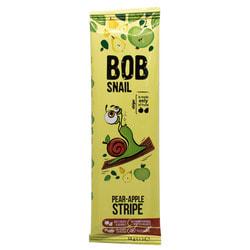 Конфеты детские натуральные Bob Snail (Боб Снеил) Улитка Боб страйпсы яблочно-грушевые 14 г