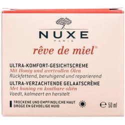 Крем для лица NUXE (Нюкс) Медовая мечта Ультра комфорт дневной для сухой и чувствительной кожи 50 мл