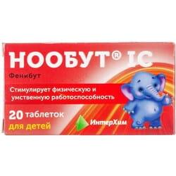 Нообут IC табл. 0,1г №20