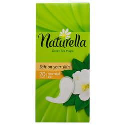 Прокладки ежедневные женские NATURELLA (Натурелла) Normal (Нормал) Green Tea Magic Зеленый чай 20 шт