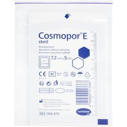 Повязка пластырная (пластырь) Cosmopor E (Космопор) стерильная размер 7,2см х 5см 1 шт