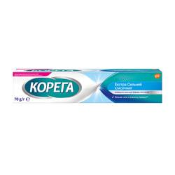 Крем для фиксации зубных протезов Корега Экстрасильный 70 г
