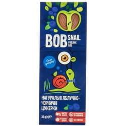 Конфеты детские натуральные Bob Snail (Боб Снеил) Улитка Боб яблочно-черничные 30 г