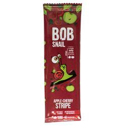 Конфеты детские натуральные Bob Snail (Боб Снеил) Улитка Боб страйпсы яблочно-вишневые 14 г