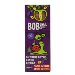 Конфеты детские натуральные Bob Snail (Боб Снеил) Улитка Боб яблочно-сливовые 30 г