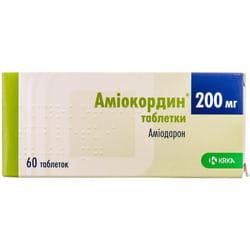 Амиокордин табл. 200мг №60