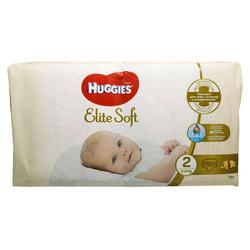 Подгузники для детей HUGGIES (Хаггис) Elite Soft (Элит софт) 2 от 4 до 6 кг 50 шт