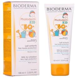 Молочко для тіла та обличчя дитяче BIODERMA (Біодерма) Фотодерм Кід сонцезахисне SPF50+ для чутливої шкіри 100 мл