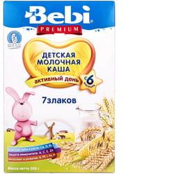 Каша молочная детская KOLINSKA BEBI (Колинска беби) Премиум 7 злаков для детей с 6-ти месяцев 200 г