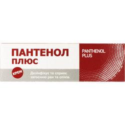 Пантенол Плюс крем туба 30г
