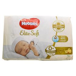 Подгузники для детей HUGGIES (Хаггис) Elite Soft (Элит софт) 0+ до 3,5 кг 50 шт